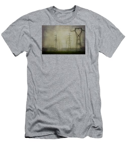 Power 5. Men's T-Shirt (Slim Fit) by Clare Bambers
