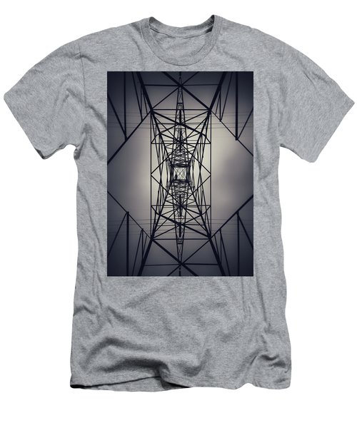 Power Above Men's T-Shirt (Athletic Fit)