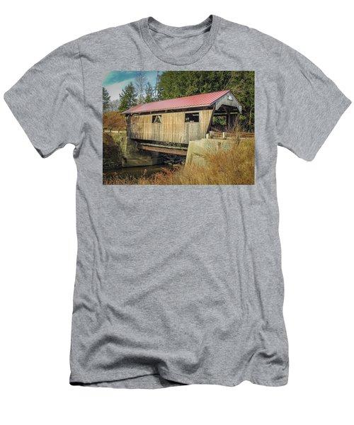 Power House Bridge Men's T-Shirt (Athletic Fit)