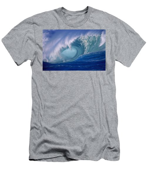 Powerful Surf Men's T-Shirt (Slim Fit) by Ron Dahlquist - Printscapes