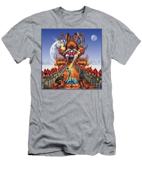 Powerless To Power Men's T-Shirt (Slim Fit) by Tony Koehl