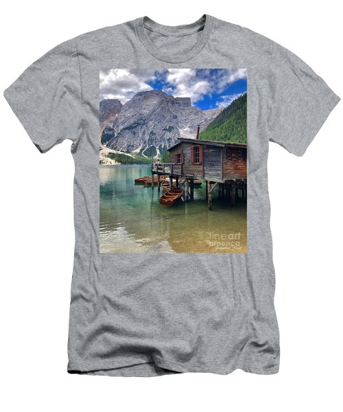 Pragser Wildsee View Men's T-Shirt (Athletic Fit)