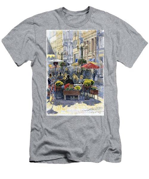 Prague Mustek First Heat Men's T-Shirt (Athletic Fit)