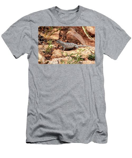 Prairie Lizard Men's T-Shirt (Athletic Fit)