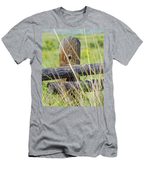Prairie's Edge Men's T-Shirt (Athletic Fit)
