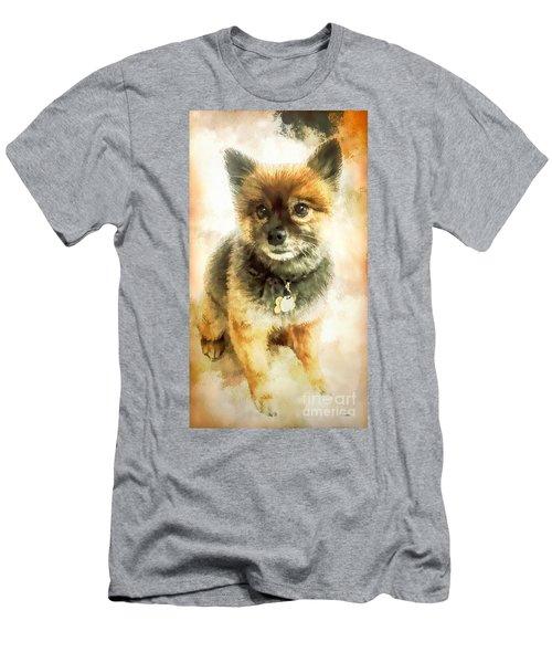 Precious Pomeranian Men's T-Shirt (Athletic Fit)