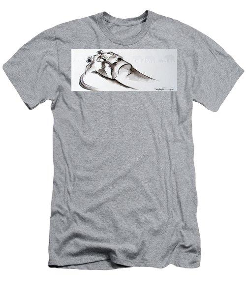 Preening Men's T-Shirt (Athletic Fit)