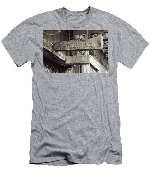 Preservation Hall, French Quarter, New Orleans, Louisiana Men's T-Shirt (Athletic Fit)