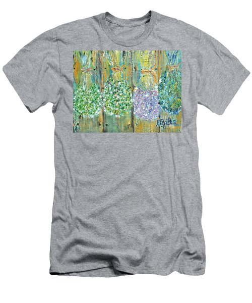 Preserved Herbs Men's T-Shirt (Slim Fit) by Evelina Popilian