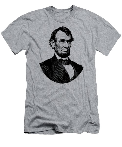 President Abraham Lincoln Graphic Men's T-Shirt (Slim Fit) by War Is Hell Store