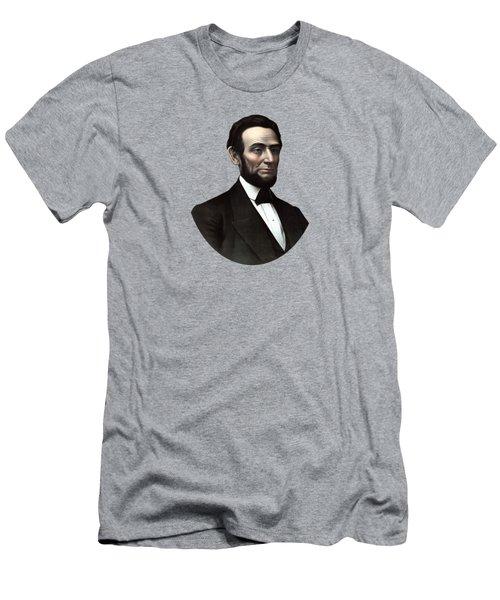 President Abraham Lincoln  Men's T-Shirt (Athletic Fit)