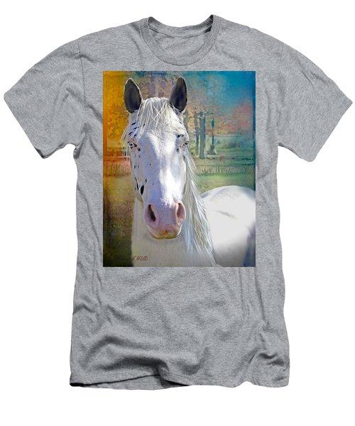 Pretty Eyes Men's T-Shirt (Slim Fit) by Bonnie Willis