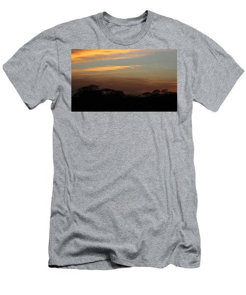 Pretty Pastel Sunset Men's T-Shirt (Athletic Fit)