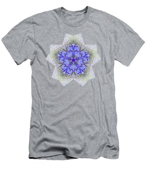 Pretty Wisteria Kaleidoscope By Kaye Menner Men's T-Shirt (Slim Fit) by Kaye Menner