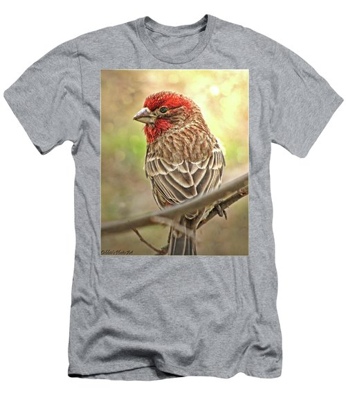Men's T-Shirt (Slim Fit) featuring the photograph Prince  by Debbie Portwood