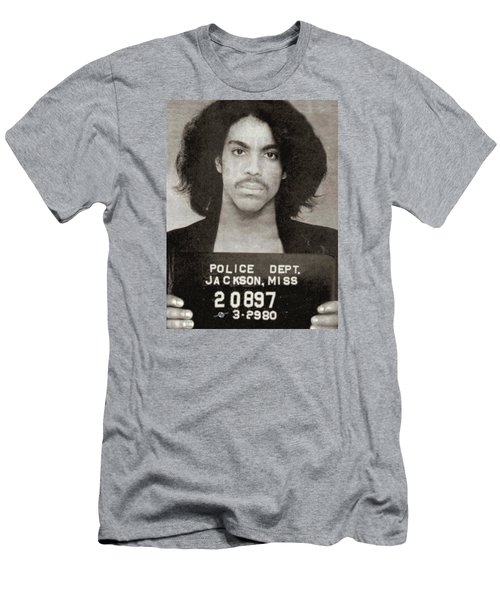 Prince Mug Shot Vertical Men's T-Shirt (Athletic Fit)