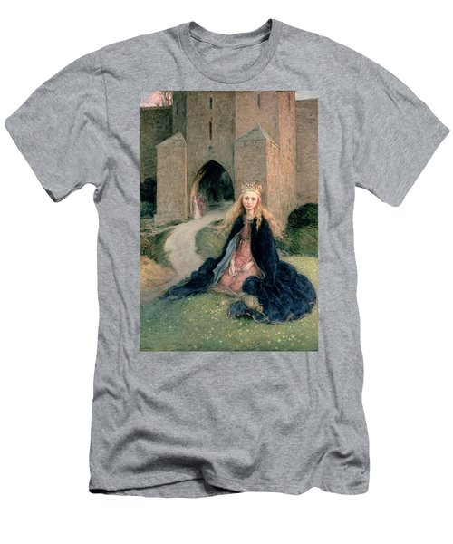 Princess With A Spindle Men's T-Shirt (Athletic Fit)