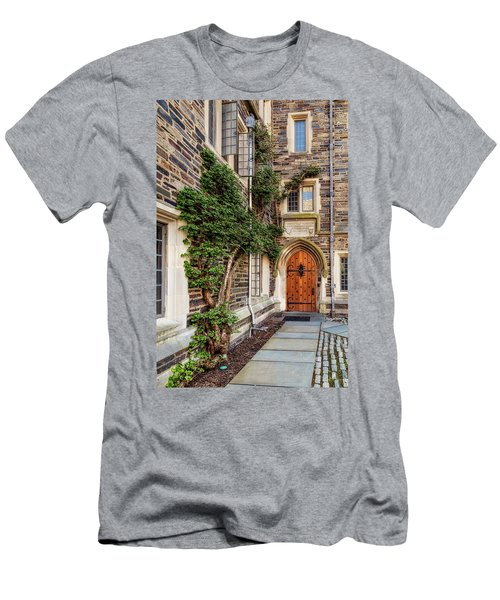 Men's T-Shirt (Slim Fit) featuring the photograph Princeton University Foulke Hall II by Susan Candelario