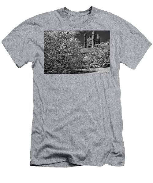 Men's T-Shirt (Slim Fit) featuring the photograph Princeton University Buyers Hall by Susan Candelario