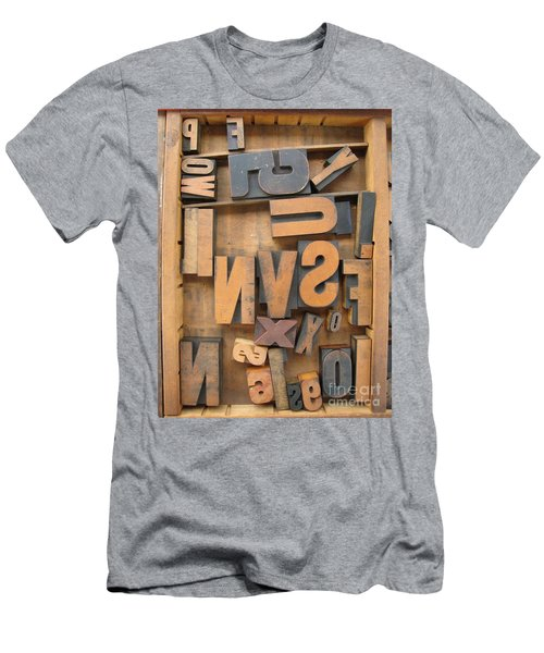 Printers Box Men's T-Shirt (Athletic Fit)