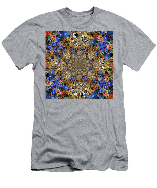 Prismatic Glasswork Men's T-Shirt (Slim Fit) by Nick Heap