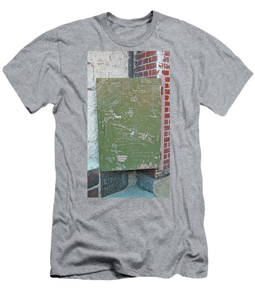 Prison Graffiti 2 Men's T-Shirt (Athletic Fit)