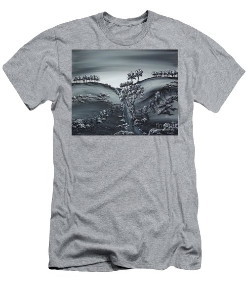 Private Road Men's T-Shirt (Slim Fit) by Kenneth Clarke