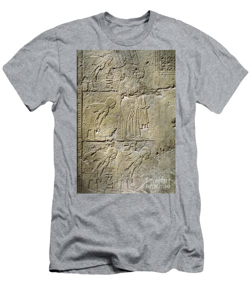 Private Tombs -painting West Wall Tomb Of Ramose T55 - Stock Image - Fine Art Print - Thebes Men's T-Shirt (Athletic Fit)