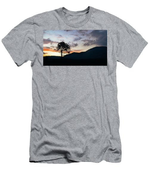 Provence, France Sunset Men's T-Shirt (Athletic Fit)