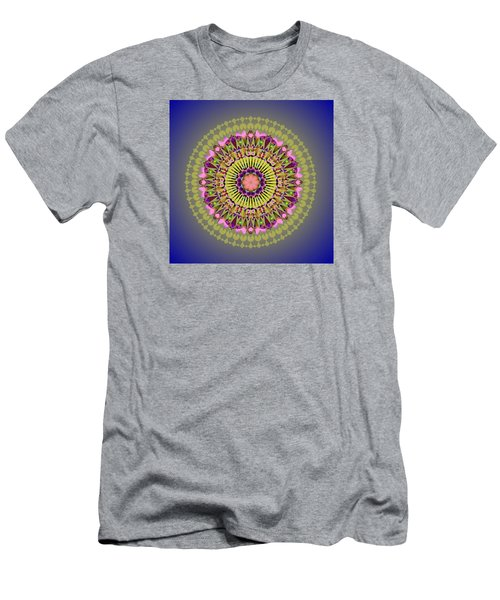 Psychedelic Mandala 001 A Men's T-Shirt (Athletic Fit)