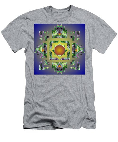 Psychedelic Mandala 002 A Men's T-Shirt (Athletic Fit)