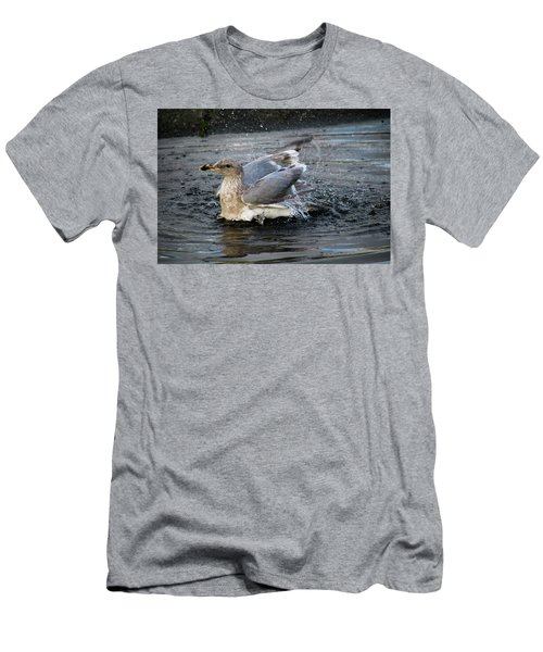 Puddle Bath Men's T-Shirt (Athletic Fit)
