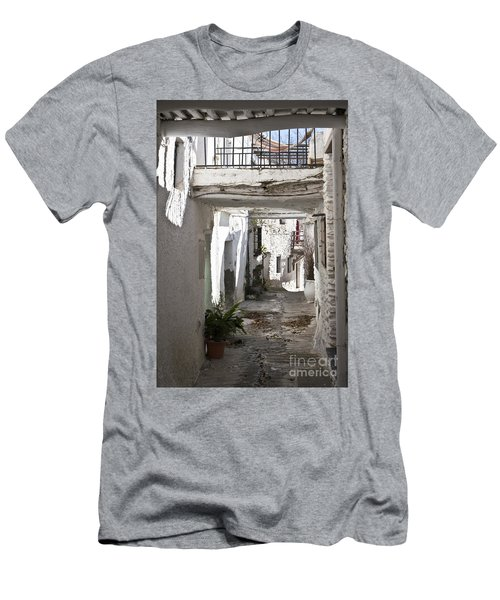 Men's T-Shirt (Slim Fit) featuring the photograph Puebla Blanca Capileira by Heiko Koehrer-Wagner