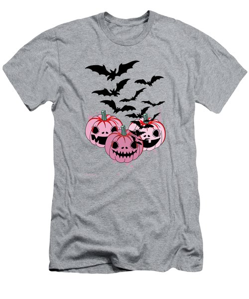 Pumpkin  Men's T-Shirt (Slim Fit) by Mark Ashkenazi