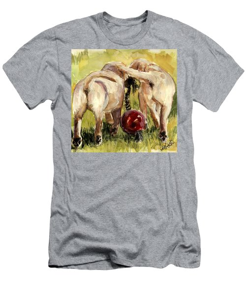 Puppy Butts Men's T-Shirt (Slim Fit) by Molly Poole