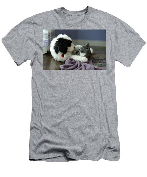 Puppy Love Men's T-Shirt (Slim Fit)