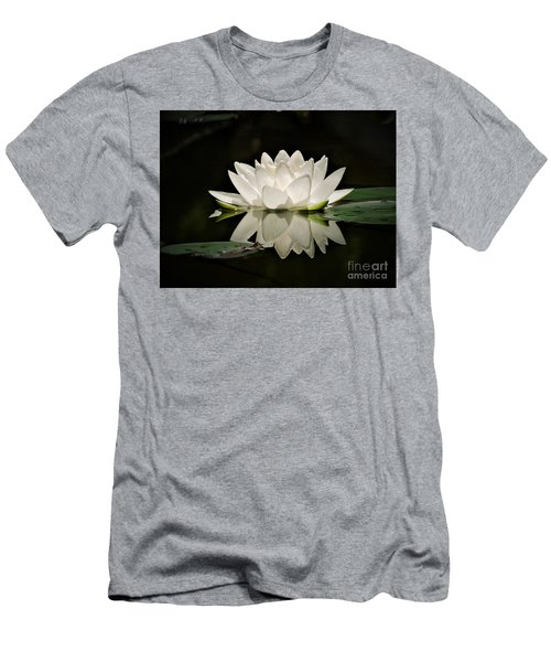 Pure And White Men's T-Shirt (Athletic Fit)