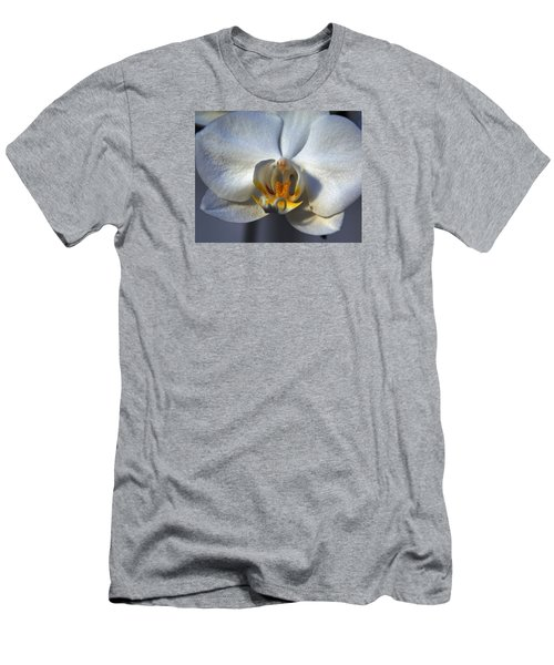 Men's T-Shirt (Slim Fit) featuring the photograph Pure Form And Color by Lynda Lehmann