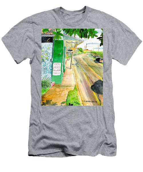 Men's T-Shirt (Slim Fit) featuring the painting Pure Hawaiian by Eric Samuelson