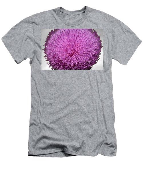 Purple Elegance Men's T-Shirt (Athletic Fit)
