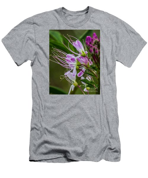 Purple Flower 6 Men's T-Shirt (Athletic Fit)