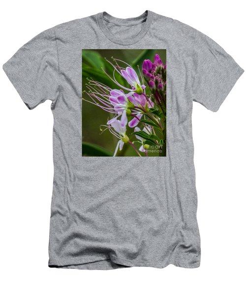 Purple Flower 6 Men's T-Shirt (Athletic Fit)