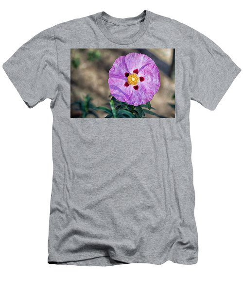 Purple Rockrose Men's T-Shirt (Athletic Fit)