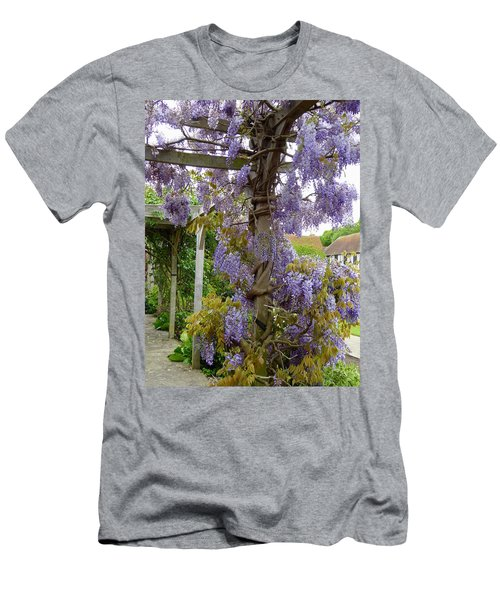 Purple In Priory Park Men's T-Shirt (Athletic Fit)