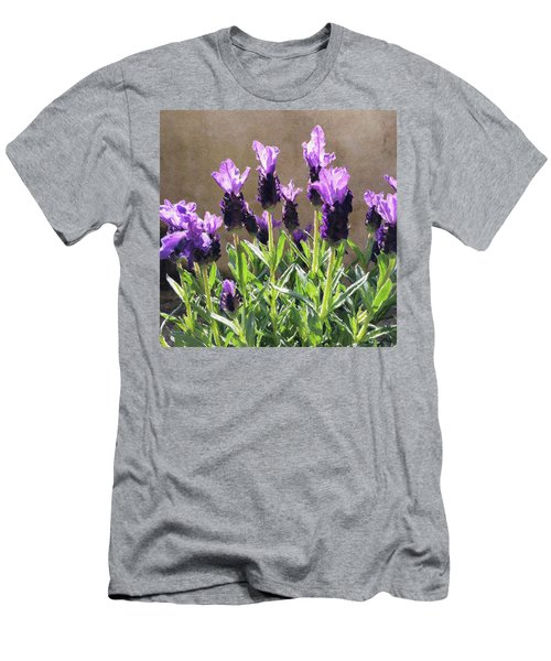Men's T-Shirt (Athletic Fit) featuring the digital art Purple by Julian Perry