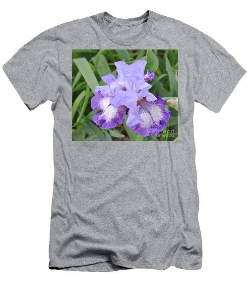 Purple Love Men's T-Shirt (Slim Fit) by Marsha Heiken