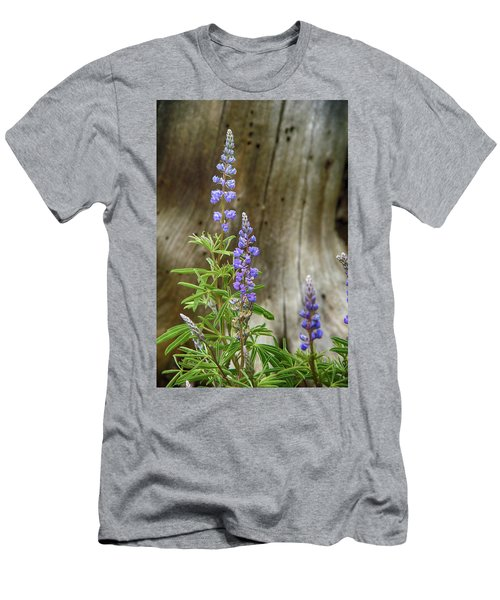 Purple Lupine Men's T-Shirt (Athletic Fit)