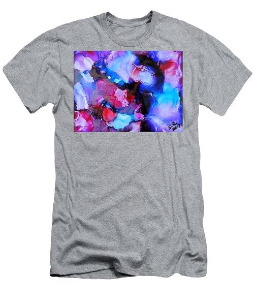 Purple Magic Men's T-Shirt (Athletic Fit)