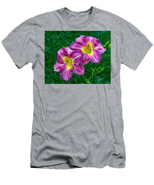 Purple Pair Men's T-Shirt (Athletic Fit)