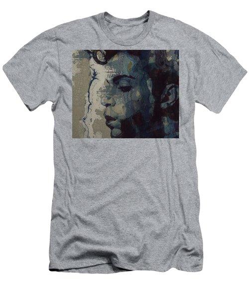 Purple Rain - Prince Men's T-Shirt (Slim Fit)